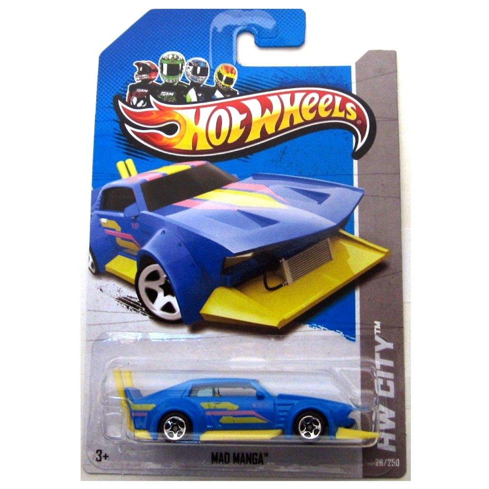 Hot Wheels HW City Mad Manga