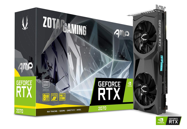 Zotac Gaming GeForce RTX 2070 AMP 8GB GDDR6 256-bit Spectra