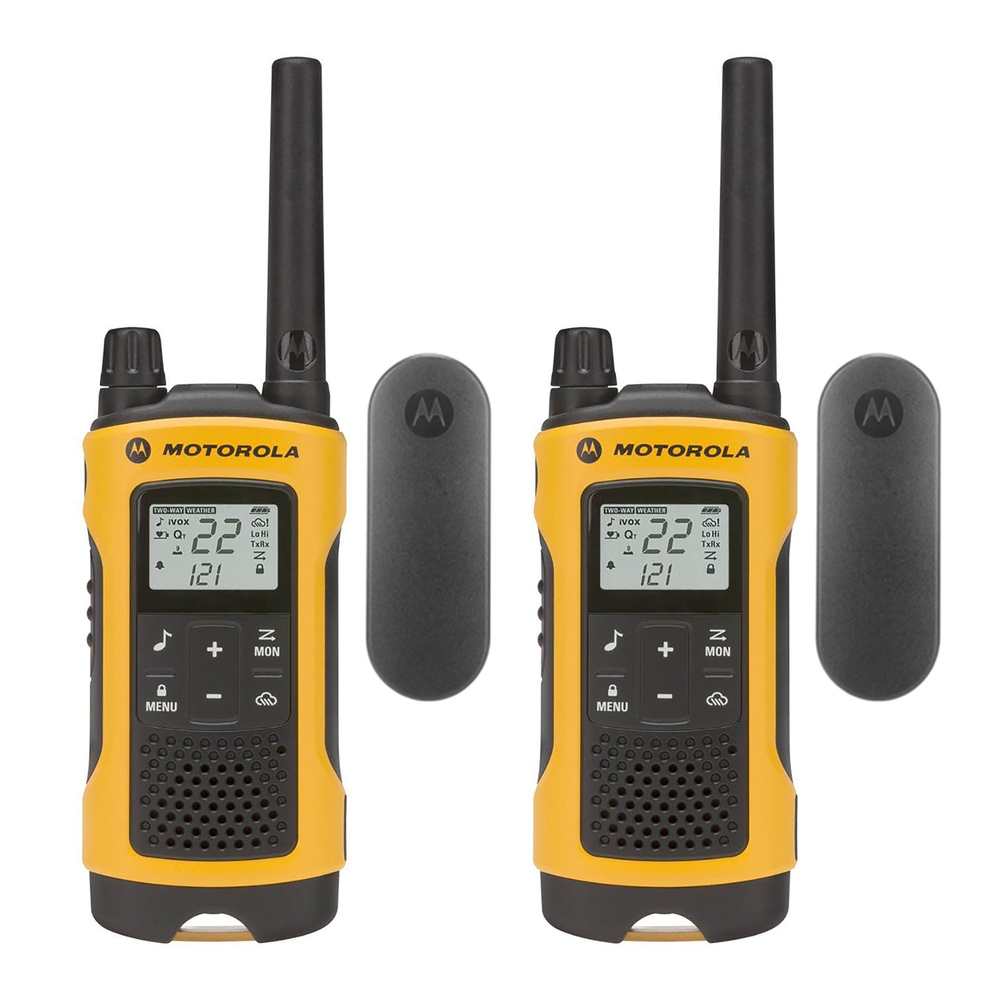 Motorola Talkabout T402 Rechargeable Two-Way Radios (2-Pack)