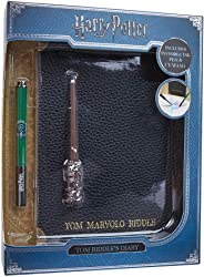 WOW! Stuff Collection Harry Potter Tom Riddle's Diary Notebook, Slytherin House Pen, & UV Wand