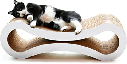 Amazon.com : PetFusion Ultimate Cat Scratcher Lounge, Large, Cloud ...