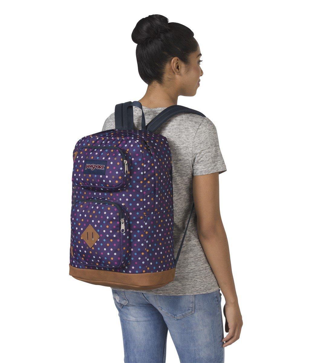 c0a5a5dc70a5 JanSport Austin Backpack- Sale Colors (Purple Spot-O-Rama) - JS00T71A34A    Shops   Clothing