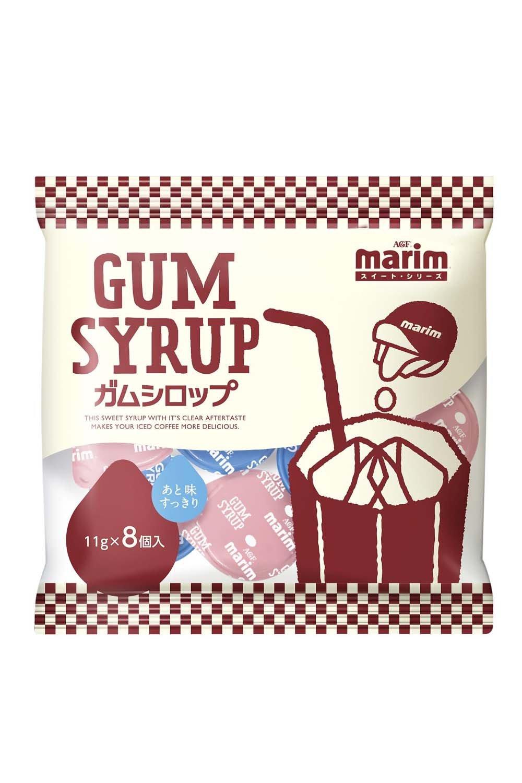 Eight Marimu gum syrup