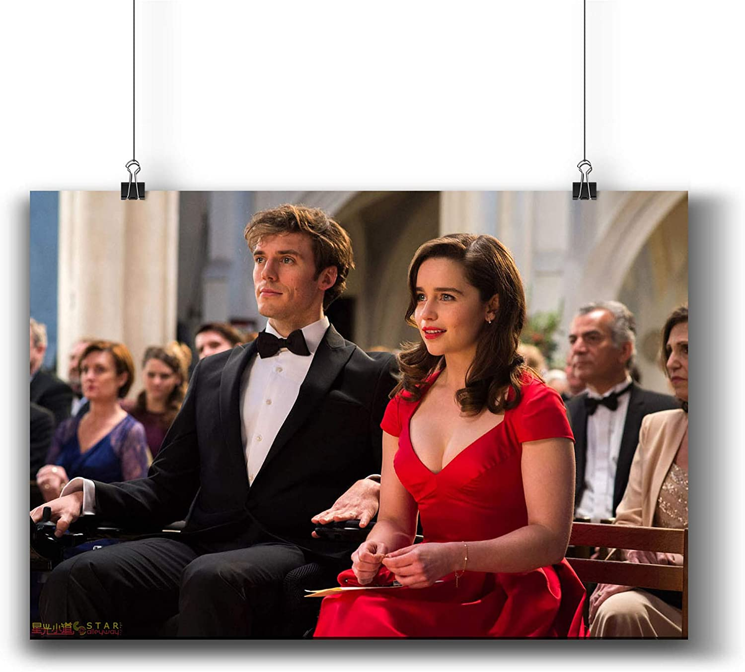 Amazon Com Pentagonwork Me Before You 2016 Movie Photo Poster Prints 809 002 Reprint Signed Casts Wall Art Decor Gift A3 11x17inch 29x42cm Posters Prints