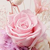 OULII Immortal Rose Flower In Glass Dome on