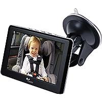 "Yada (BT53901F-2) Tiny Traveler Matte Black 4.3"" Digital Wireless Baby Monitor"