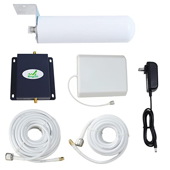 T-Mobile Cell Phone Signal Booster Mingcoll Metro 1700MHz 3G 4G Band 4 Mobile Signal
