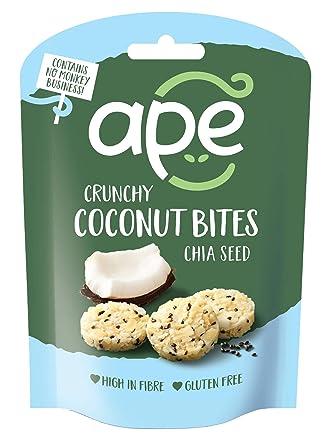 Ape Snacks - Lote de 10 bolitas de coco con semillas de chia ...