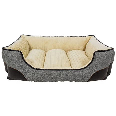Terrific Canine Creations Memory Foam Lounger Pet Bed 33 X 25 Grey Gmtry Best Dining Table And Chair Ideas Images Gmtryco