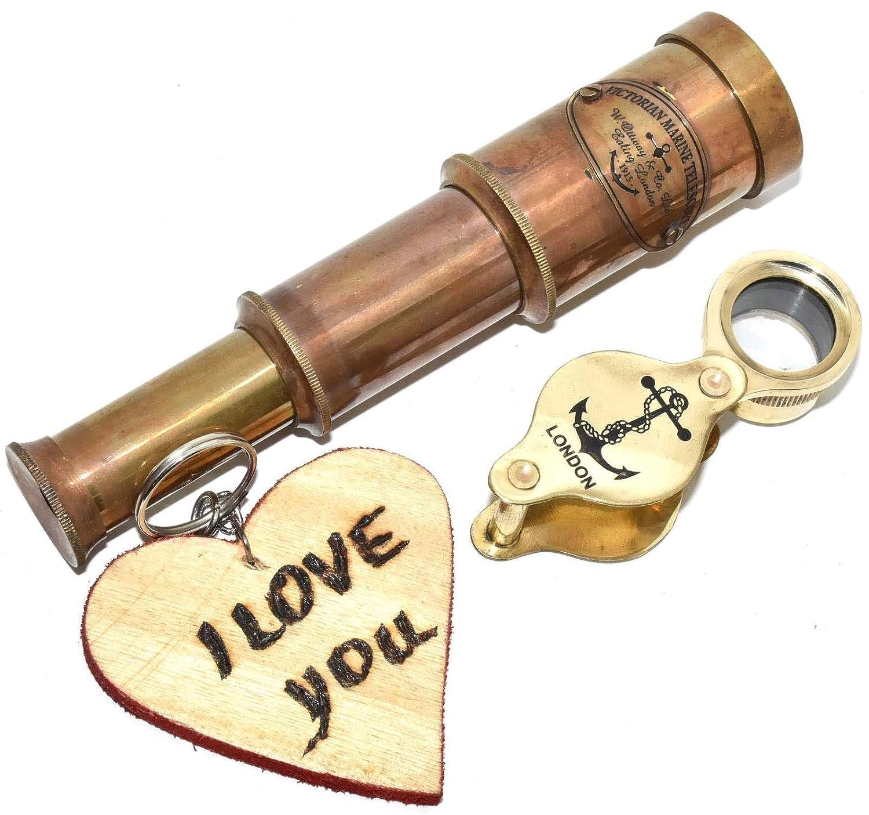 Amazon.com: Eve.Store - Telescopio con llavero de madera ...