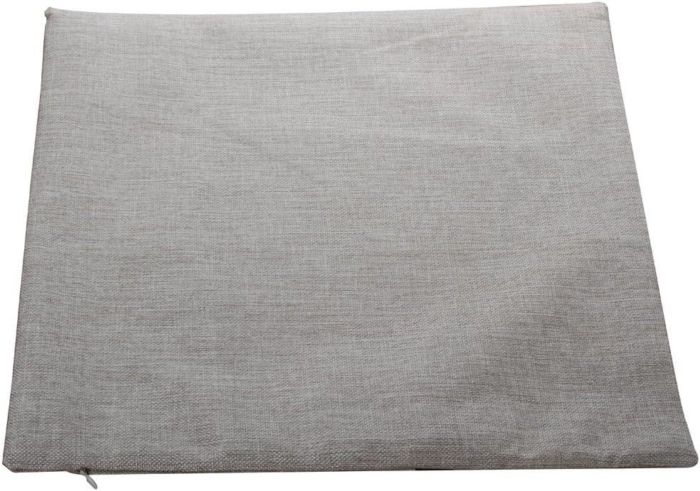 Nunubee Cotton Linen Cushion Cover 18X18 Pillowcase Throw Pillow Case Sofa Decoration Owl Skull Totem 2