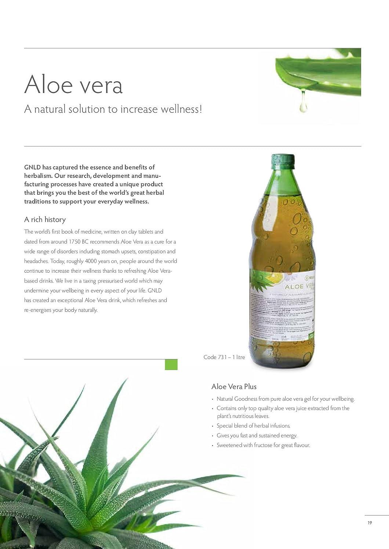 neolife Aloe Vera Plus (tamaño 34 Fuid oz extraído en 100% jugo de ...
