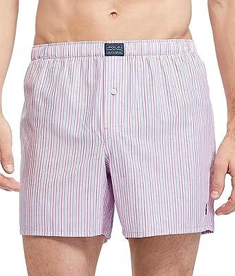 08003483d4fab9 Polo Ralph Lauren Connoisseur 100% Cotton Woven Boxer (R169) S/Pink Regent