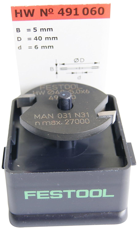 Festool 491059 Disque à rainurer carbure D40x4