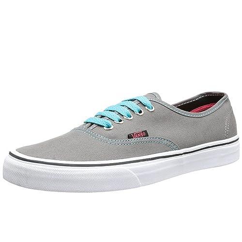 Vans VANS U AUTHENTIC (POP) PEWTER SCUBA - Zapatillas de deporte para mujer  gris gris 44  Amazon.es  Zapatos y complementos 2e0fe40488c