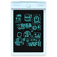 IGERESS Newest Blue 9-inch LCD Writing Tablet Electronic Writing Board Digital Drawing Board Graphic Drawing Tablet Durable (Blue) …