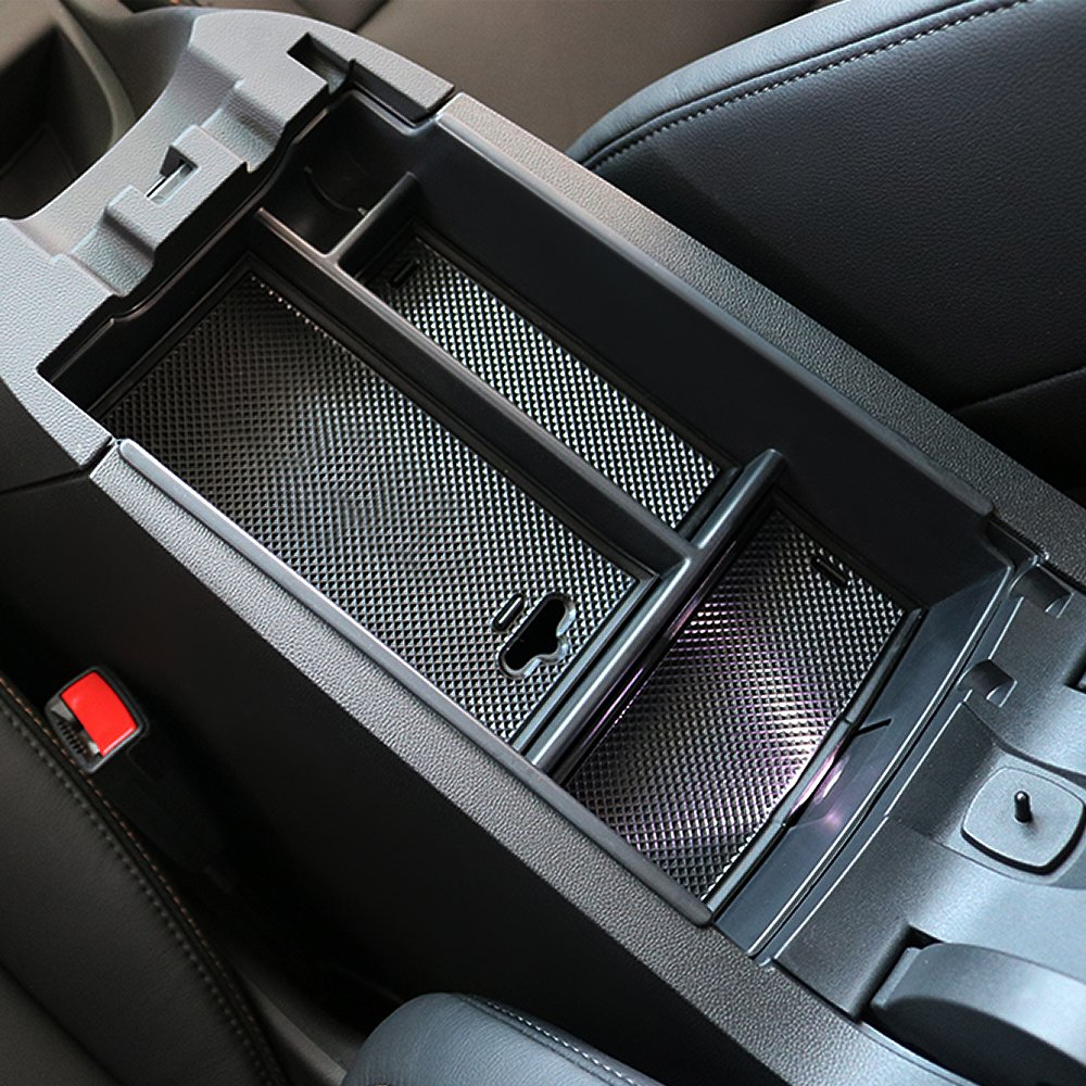 Car Center Console Organizer Armrest Tray For Chevrolet Equinox 2018 Chompoo 5559020198