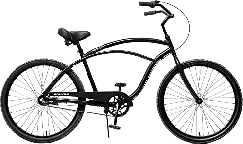 Fito Men's Marina 2.0 Aluminum Alloy 3 Speed Beach Cruiser Bike