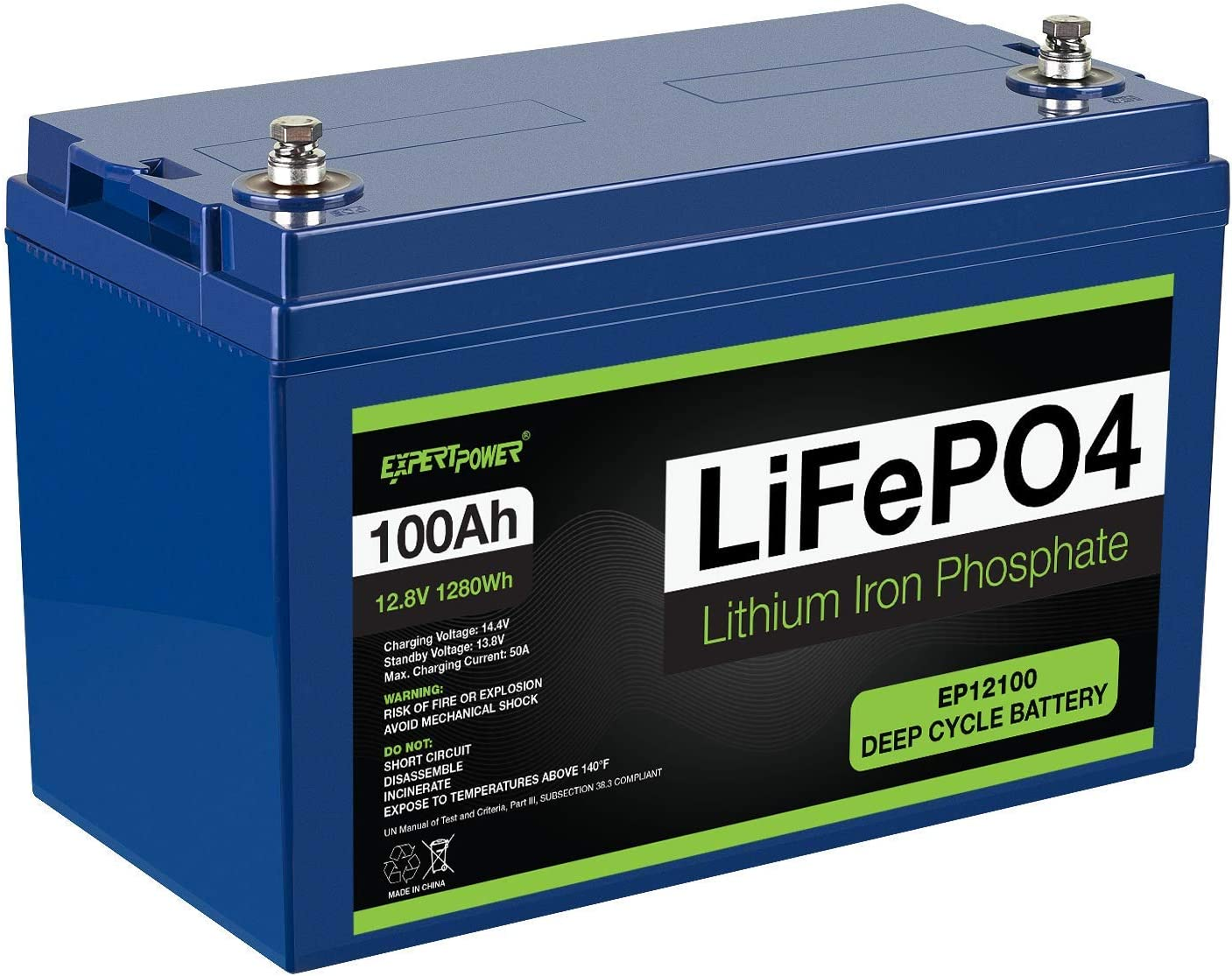 ExpertPower Lithium 12V RV Battery
