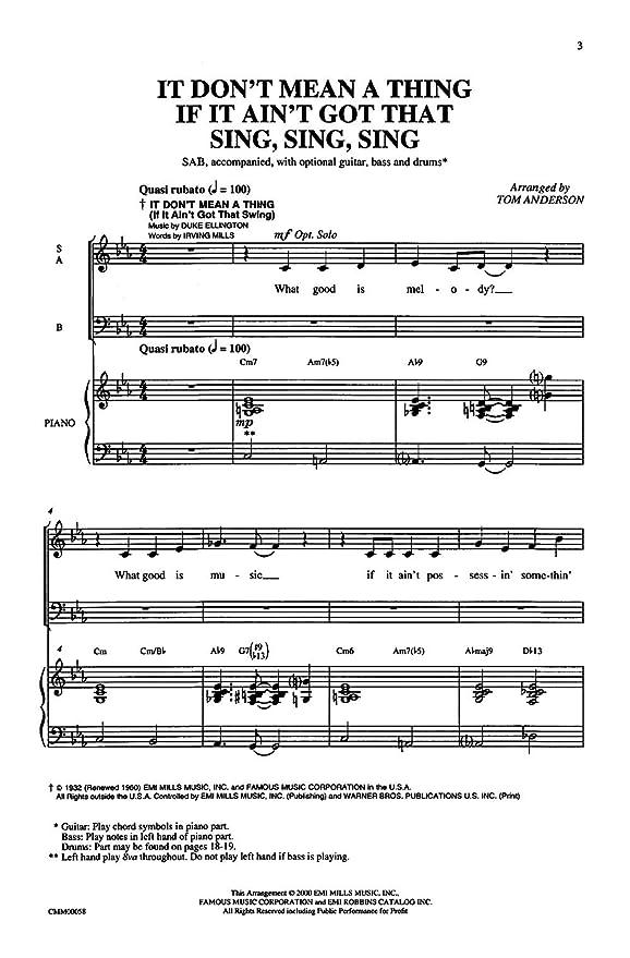 Duke Ellingtonlouis Prima It Dont Mean A Thing If It Aint Got