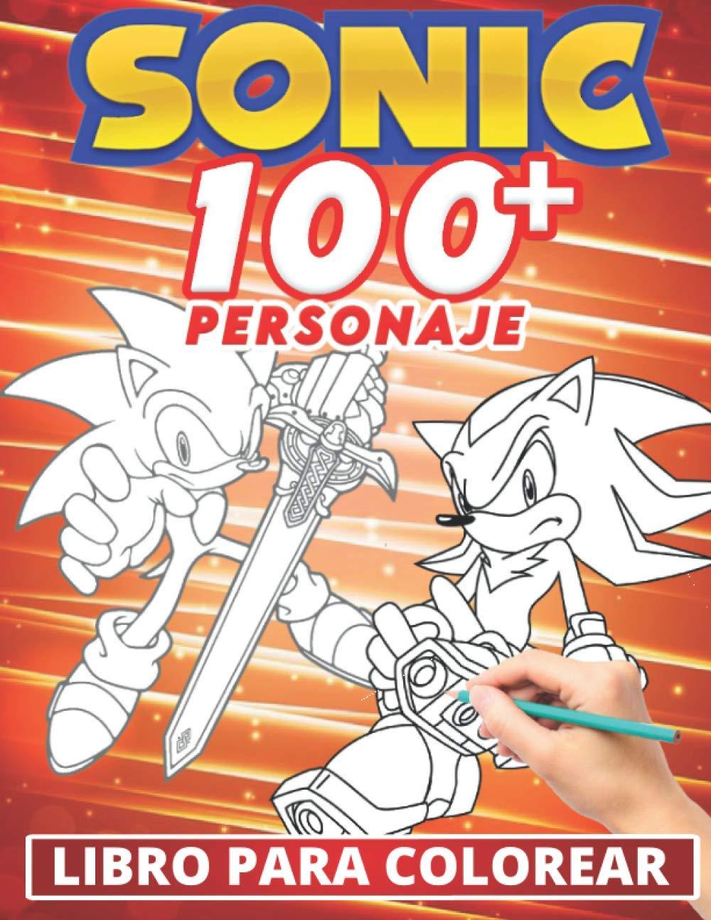 Sonic Libro Para Colorear: Divertidos libros de colorear para ...