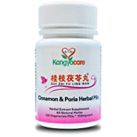 [Kangyacare] GUI Zhi Fu Ling Wan - Cinnamon & Poria Pills - Natural Cycle Relief - Help Menstrual Cramps, Pelvic Cramping, Bloating, Period Pain - Promote Women's Health - 100% Natural (1 Bottle)