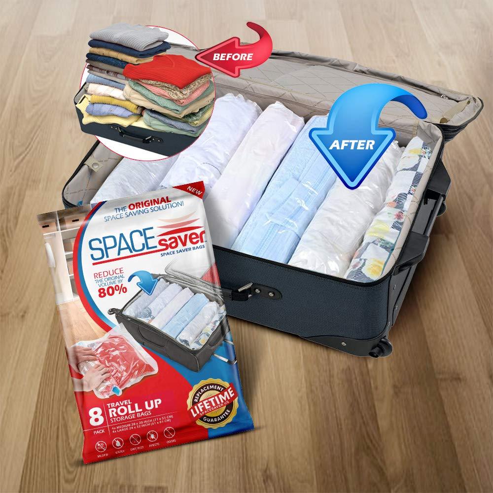 Amazon.com: SpaceSaver 8 bolsas de almacenamiento de ...