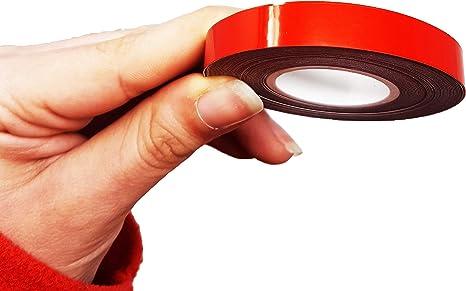 5 mm x 6 mt Rouge Bandes Wheel Trim Racing pour les Jantes des Voitures