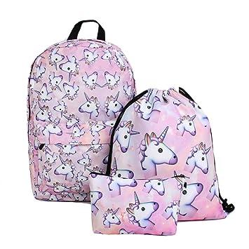 Unicorn Backpack for Girls 63f63e9255a15
