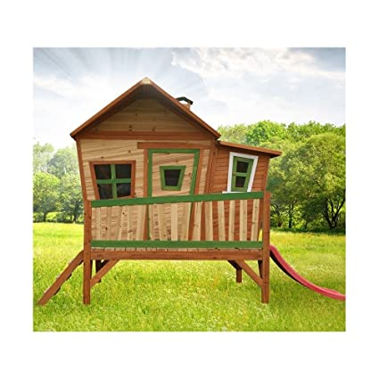 AXI–Casa de juegos de madera, Playhouse Emma, Juegos