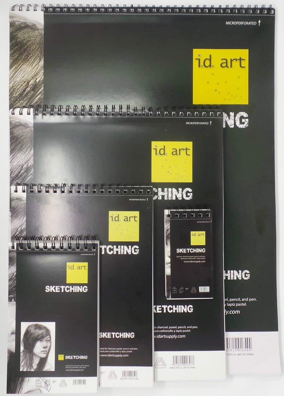 i.d art supply Spiral-bound Sketchbook 18x24
