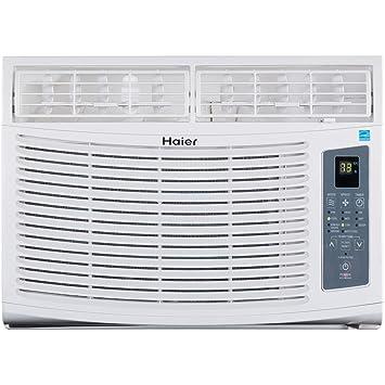 haier air conditioner. haier esa412n 11.3-eer window air conditioner, 12000-btu, energy star rated conditioner