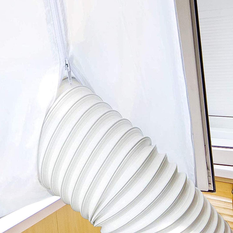 Inntek Tubo flessibile di scarico cappa aspirante asciugatrice per esempio per impianti di climatizzazione in PVC 3m diametro 150mm