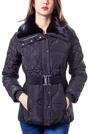 low priced fc437 b3440 Desigual Luxury Fashion Donna 19WWEWBPBLACK Nero Piumino ...