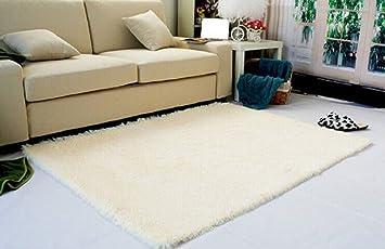 Super Soft Modern Shag Area Rugs Living Room Carpet Bedroom Rug For  Children Play Solid Home