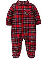 Amazon.com: Boys Christmas Pajamas Infant or Toddler Plaid: Clothing