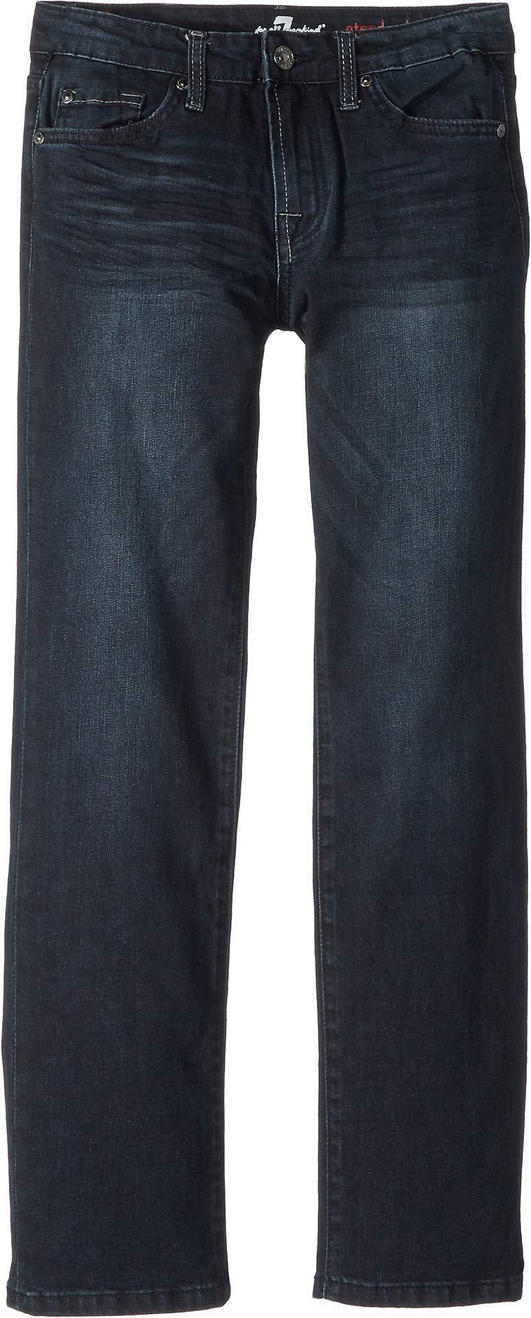 7 For All Mankind Kids Boy's Standard Stretch Denim Jeans in Dynamic (Big Kids) Dynamic 16