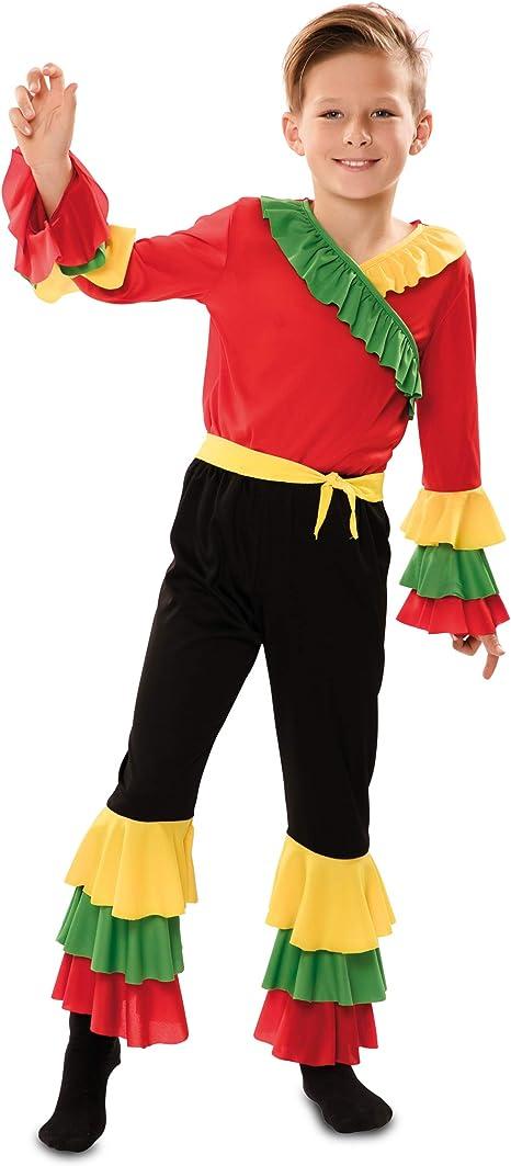 Disfraz de Rumbero Rojo para niño: Amazon.es: Juguetes y juegos