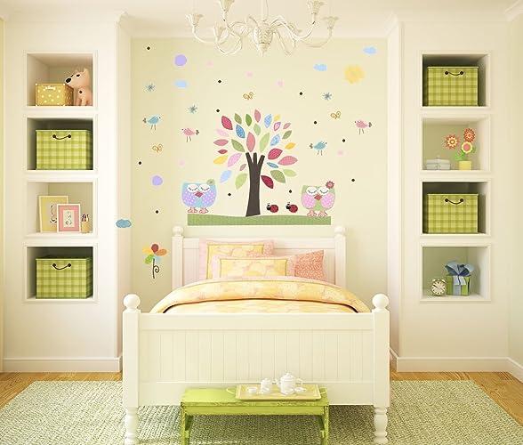 Jungle Wall Decal C010 D20 Baby Room Decor Blue Green Decal Blue Yellow Nursery Boy Nursery Decor Kids Room Decor Nursery Wall Decal