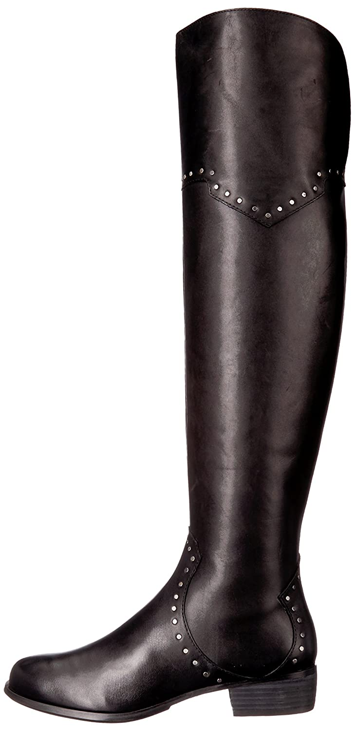 Aerosoles Women's West Side Over The Knee Boot B0753QRYLG 9.5 B(M) US Black Leather