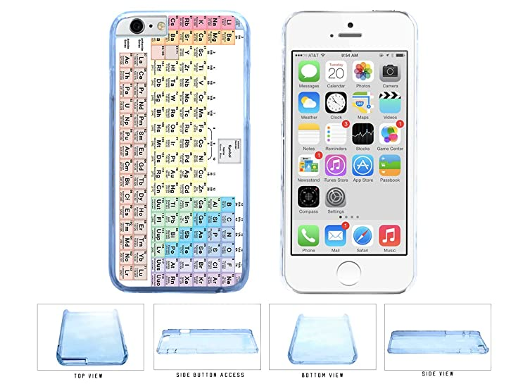 Amazon colorful periodic table plastic phone case back cover colorful periodic table plastic phone case back cover apple iphone 6 plus 55 inches urtaz Images