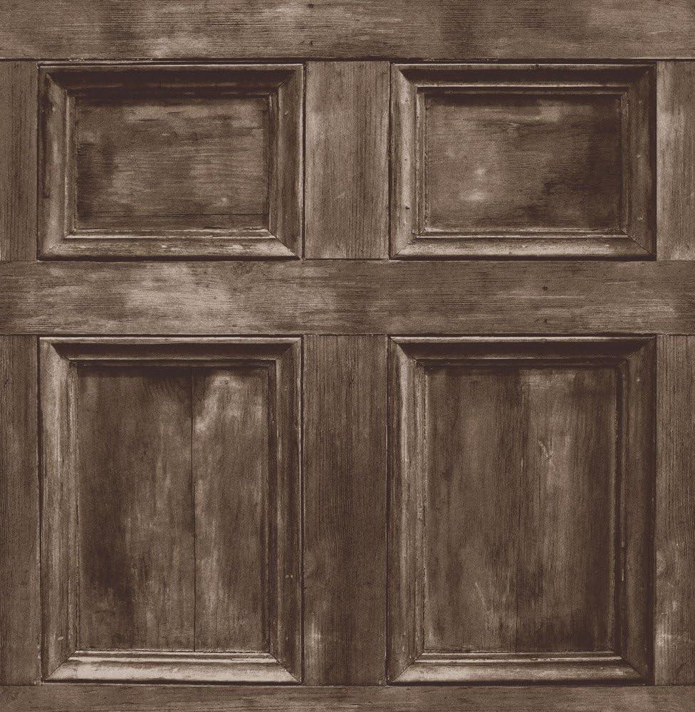 Brewster FD31055/Papier peint effet bois/-/Chocolat