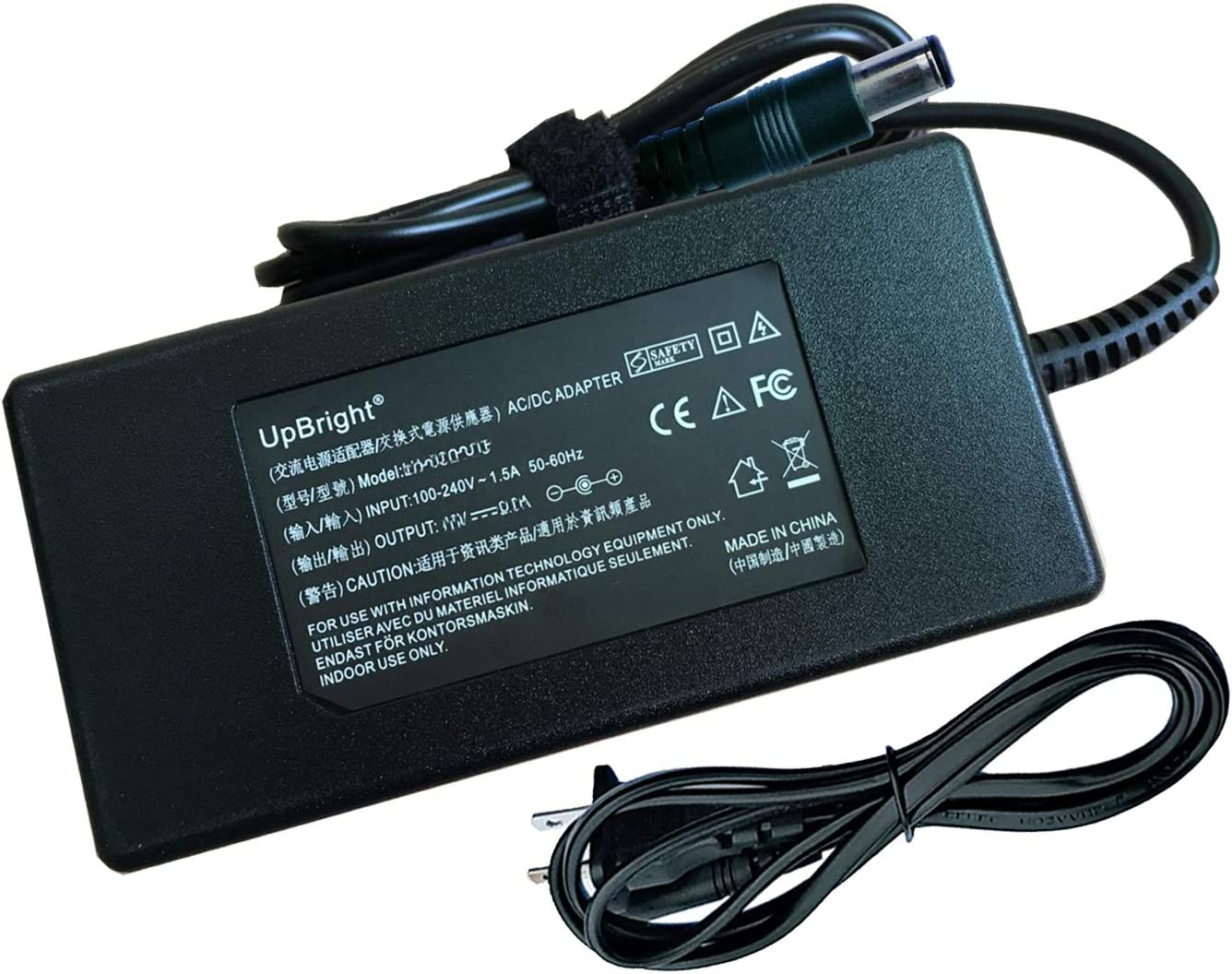 Accessory USA 48V AC DC Adapter for Amcrest NV1104E 1080P 8-Channel Network POE Video Recorder 48VDC Power Supply Cord