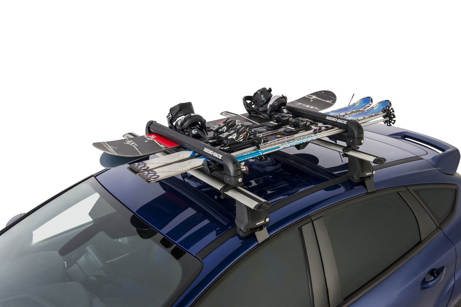pair other flat or ski carrier items mount top see for itm car snowboard rack roof