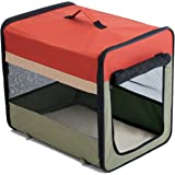 "Favorite Soft-Side Vet Visit Travel Foldable Pet Carrier 20"" L x 16"" W x 18.5"" H, S"