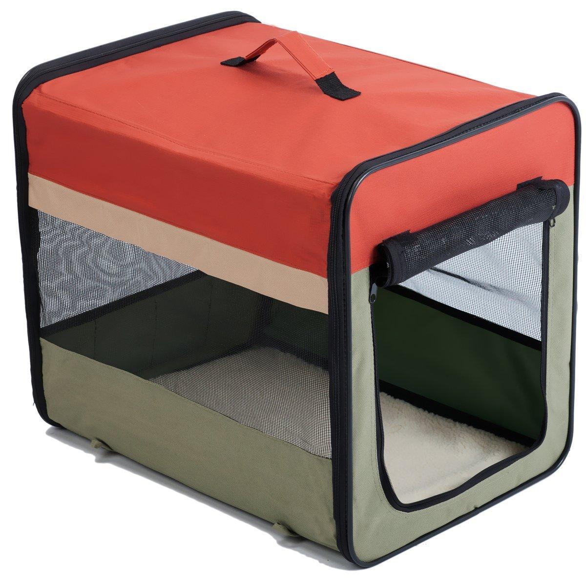 Favorite Soft-Side Vet Visit Travel Foldable Pet Carrier 36''L x 26''W x 29''H, XL