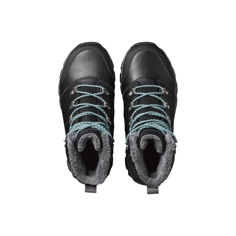 SALOMON Toundra CSWP W 390211 390211 390211 Damen-Winterschuhe schwarz schwarz Spa Blau Gr. 38 2 3 (UK 5,5) e801f1
