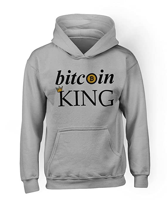 Comprar sudadera Bitcoin King