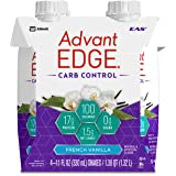 EAS AdvantEDGE Carb Control Ready-to-Drink Protein Shake, Vanilla, 11 fluid ounces, 12 count (Product May Vary)