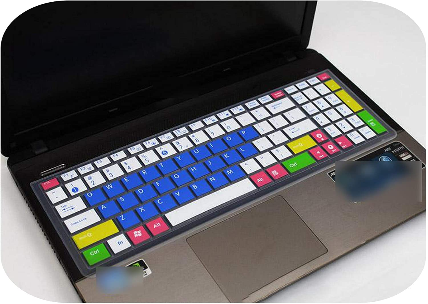 Laptop Keyboard Cover for Asus Vivobook 15 X542Bp X542U X542Uq X542Un X542Uf X542Ua X542Ur X540 X540Ma X540L X540S X541Na 15.6-Allpurple